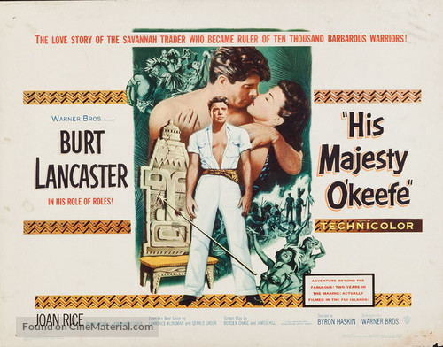His Majesty O'Keefe - Movie Poster