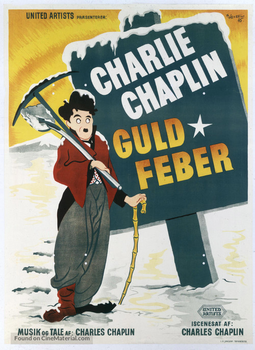 The Gold Rush - Swedish Movie Poster