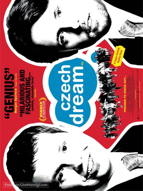 Ceský sen - British Movie Poster