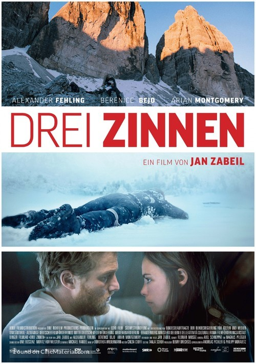 Three Peaks - Swiss Movie Poster