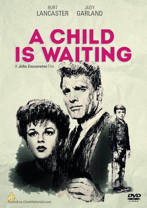 A Child Is Waiting - British DVD movie cover
