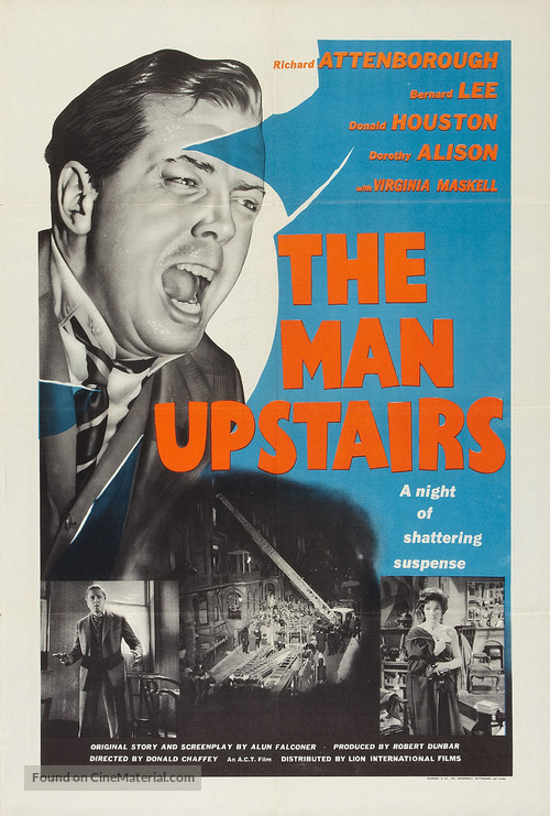 The Man Upstairs - British Movie Poster