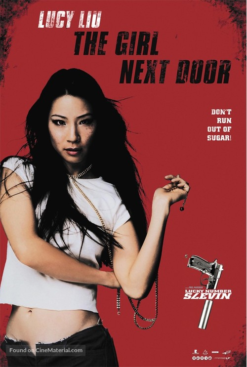 Lucky Number Slevin - Dutch Movie Poster