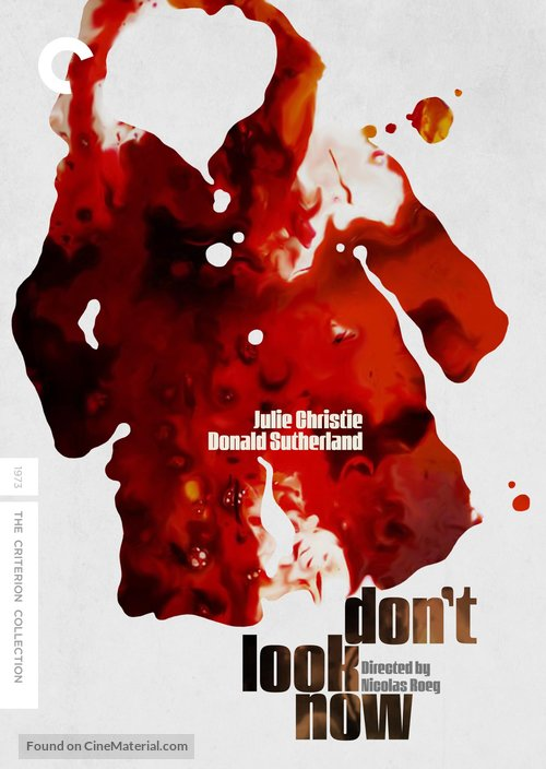 Don't Look Now - DVD movie cover