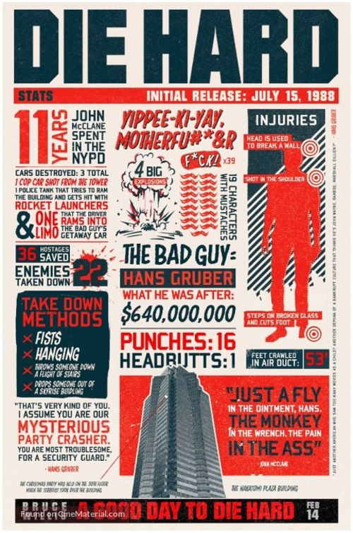 A Good Day to Die Hard - Movie Poster