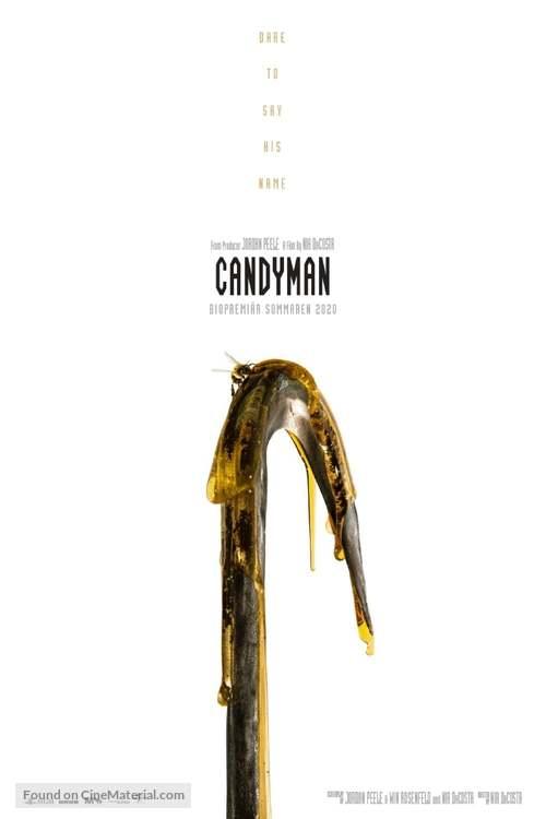 Candyman - Swedish Movie Poster