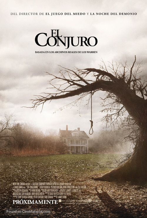 The Conjuring - Argentinian Movie Poster