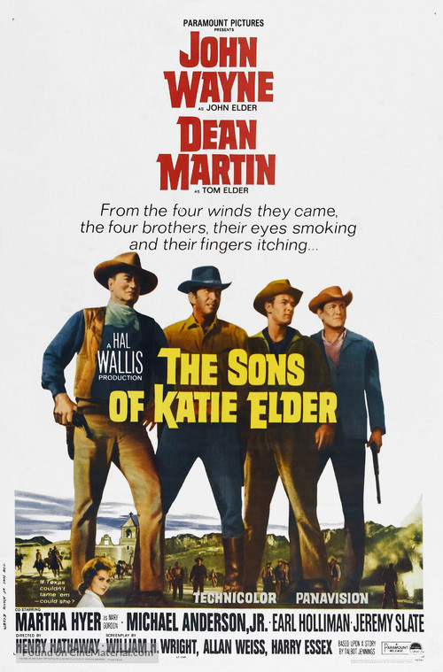 The Sons of Katie Elder - Theatrical movie poster