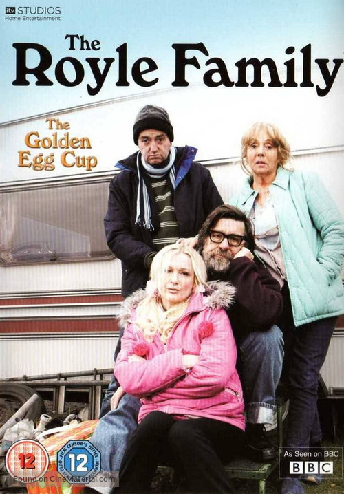 """""""The Royle Family"""" - British DVD movie cover"""