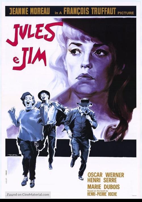 Jules Et Jim - Movie Poster