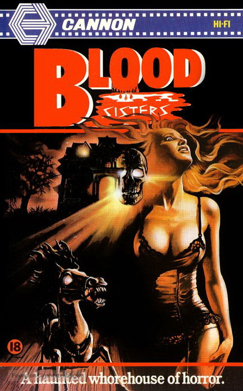 Blood Sisters - British VHS cover