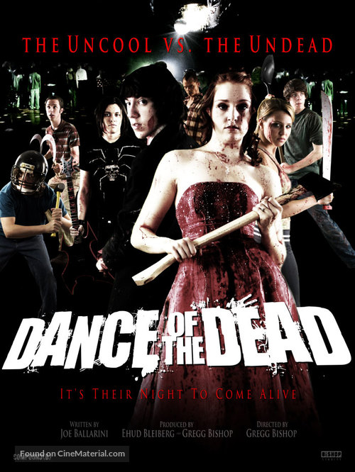 Dance of the Dead - Blu-Ray movie cover