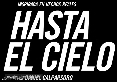 Hasta el cielo - Spanish Logo