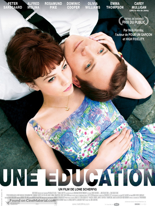 An Education - French Movie Poster