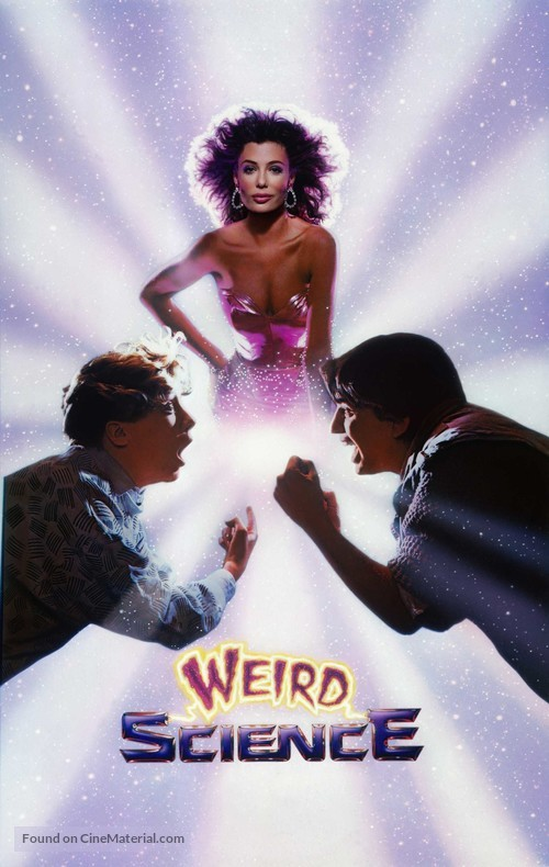 Weird Science - VHS movie cover