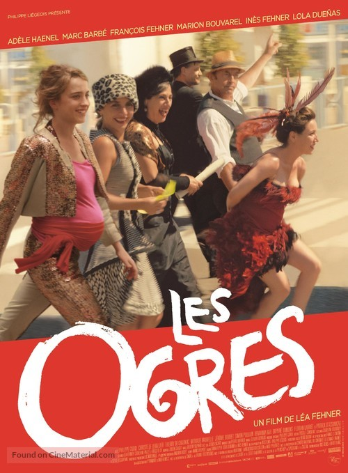 Les ogres - French Movie Poster