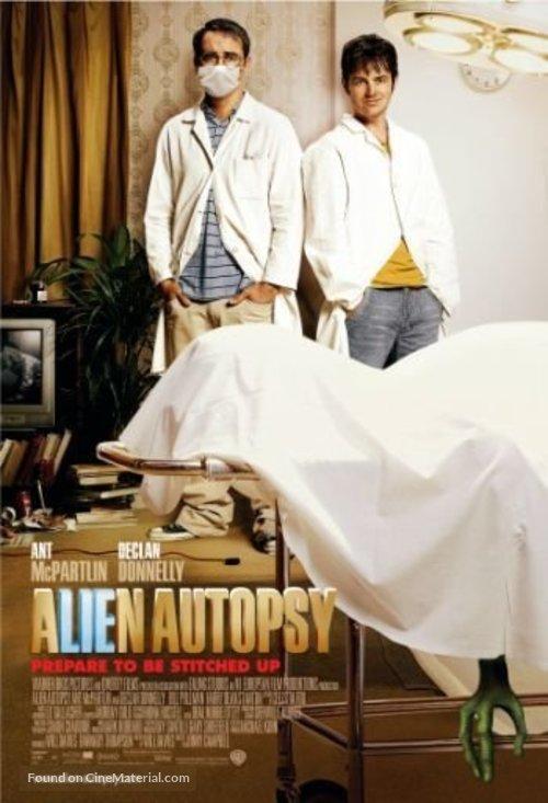 Alien Autopsy - British Movie Poster