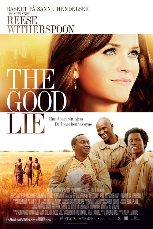 The Good Lie - Norwegian Movie Poster