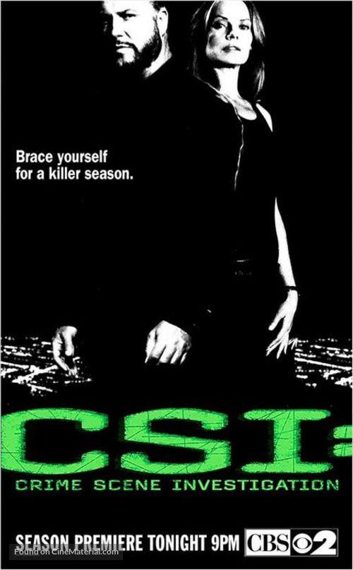 """""""CSI: Crime Scene Investigation"""" - Movie Poster"""