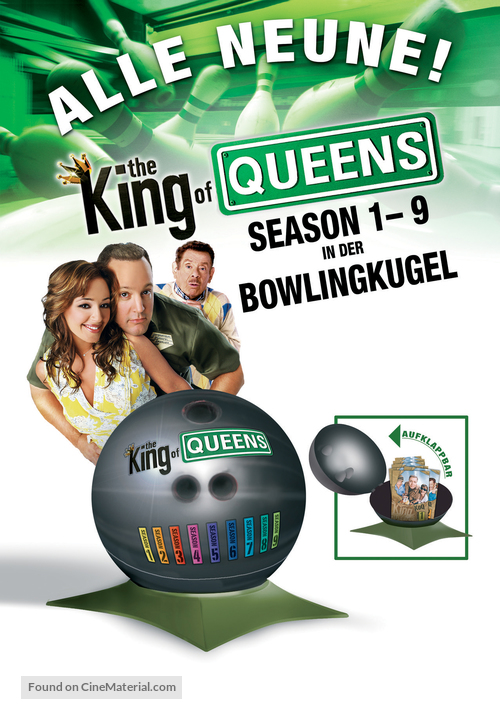 """""""The King of Queens"""" - German Movie Cover"""