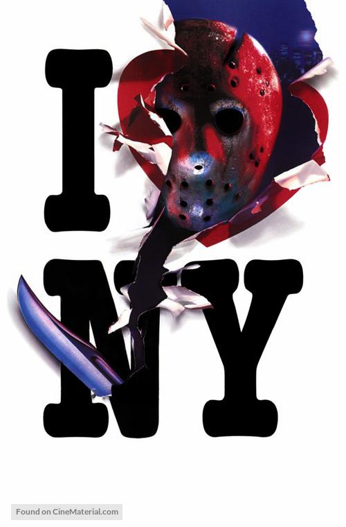 Friday the 13th Part VIII: Jason Takes Manhattan - Key art