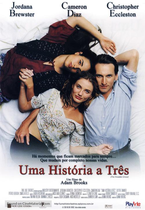 The Invisible Circus - Brazilian Movie Poster