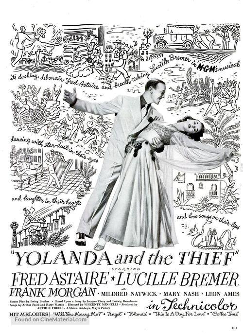 Yolanda and the Thief - Movie Poster