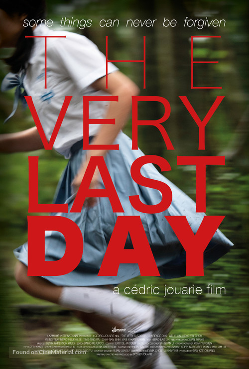 The Very Last Day - Taiwanese Movie Poster