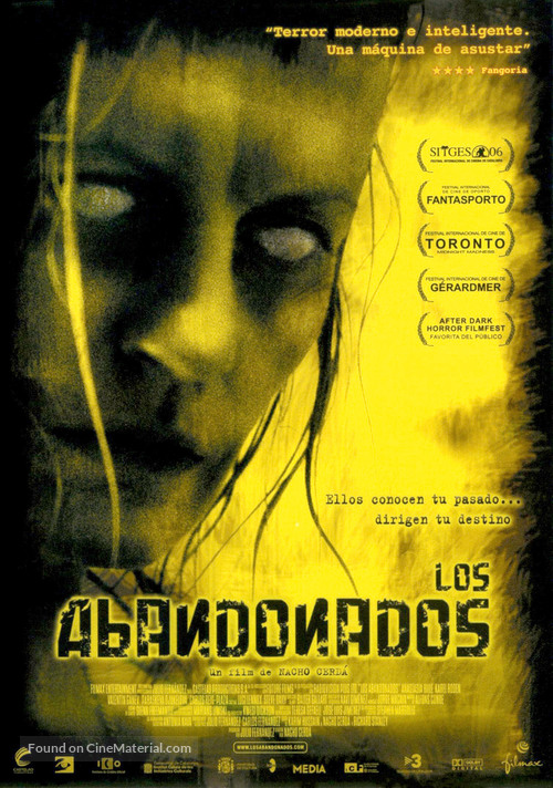 The Abandoned - Spanish Movie Poster