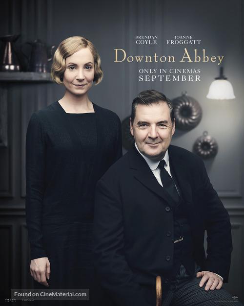 Downton Abbey - British Movie Poster