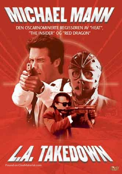 L.A. Takedown - Norwegian DVD movie cover