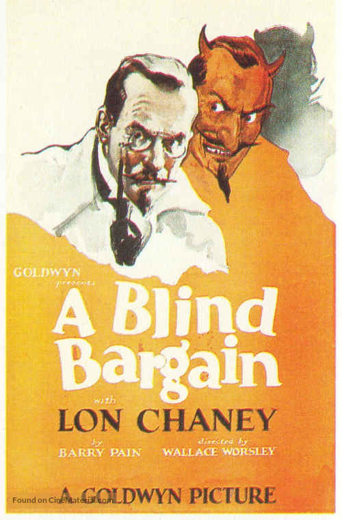A Blind Bargain - Movie Poster