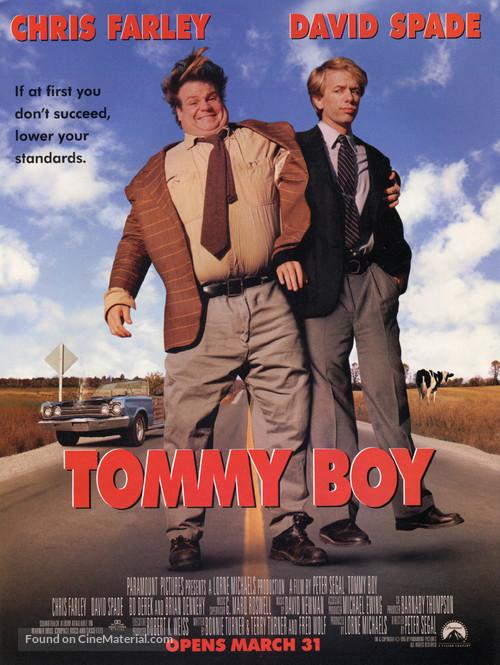Tommy Boy - Movie Poster
