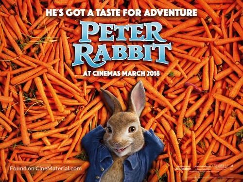 Peter Rabbit - British Movie Poster