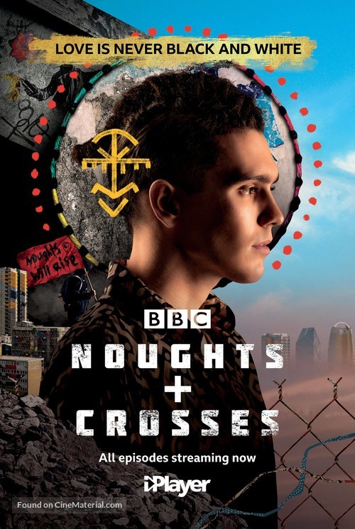 """Noughts + Crosses"" - British Movie Poster"