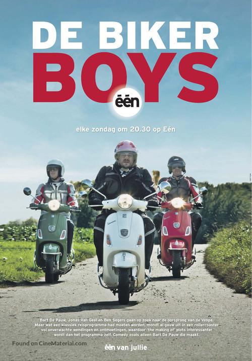 """""""De Biker Boys"""" - Belgian Movie Poster"""
