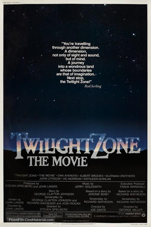 Twilight Zone: The Movie - Movie Poster