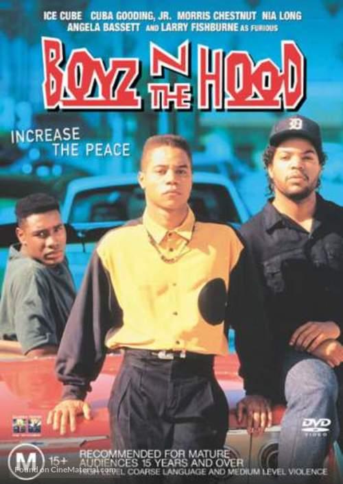 Boyz N The Hood - Australian DVD movie cover