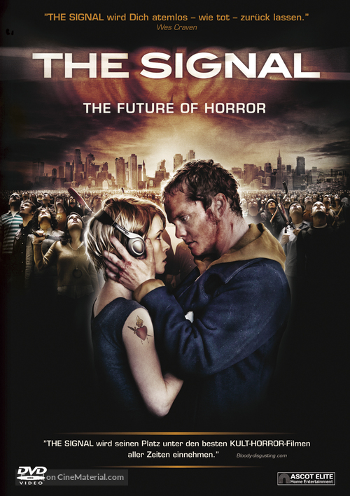 The Signal - Swiss DVD movie cover