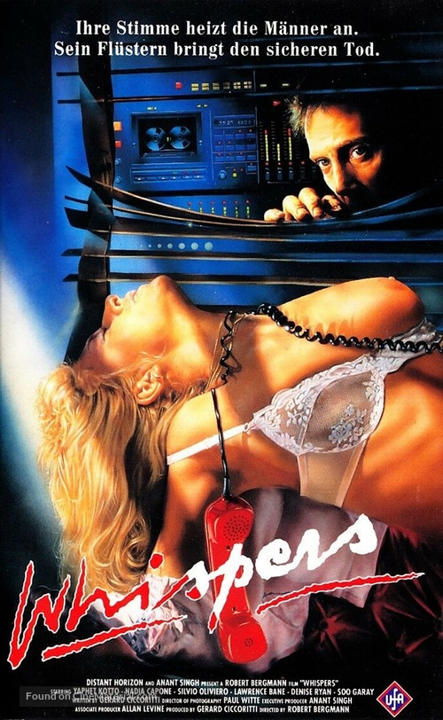A Whisper to a Scream - German VHS movie cover