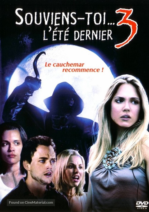 I'll Always Know What You Did Last Summer - French DVD cover
