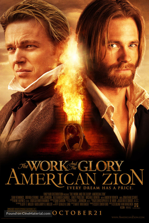 The Work and the Glory - Movie Poster