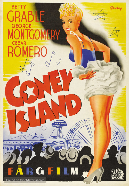 Coney Island - Swedish Movie Poster