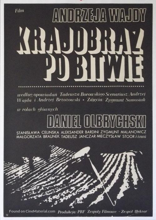 Krajobraz po bitwie - Polish Movie Poster
