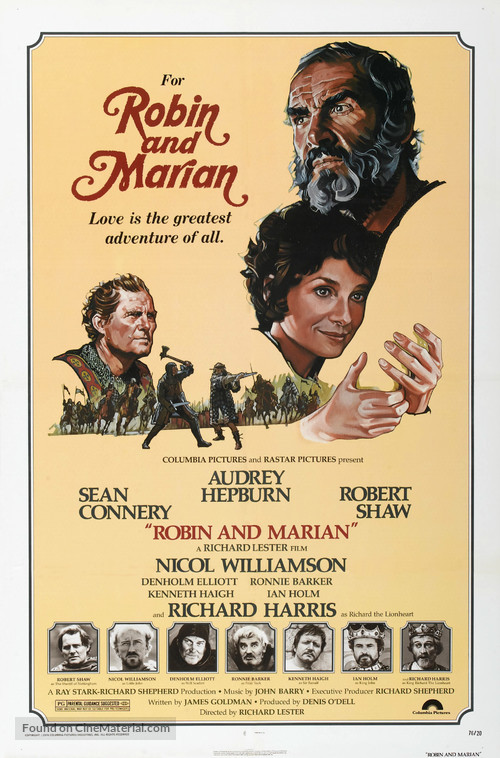 Robin and Marian - Movie Poster