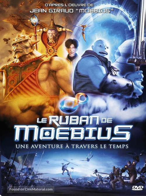Thru the Moebius Strip - French DVD cover