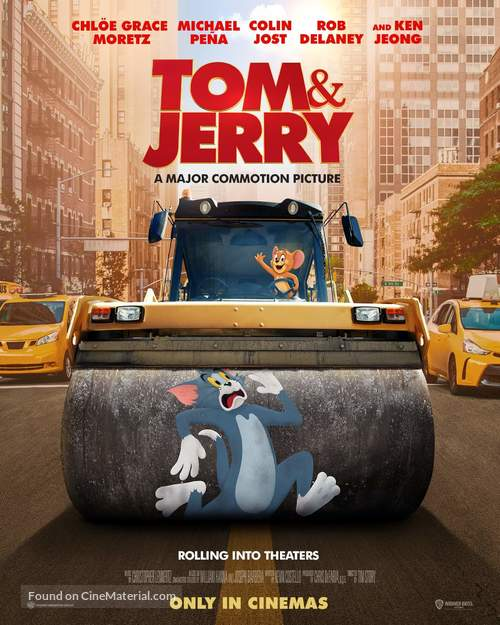 Tom and Jerry - International Movie Poster