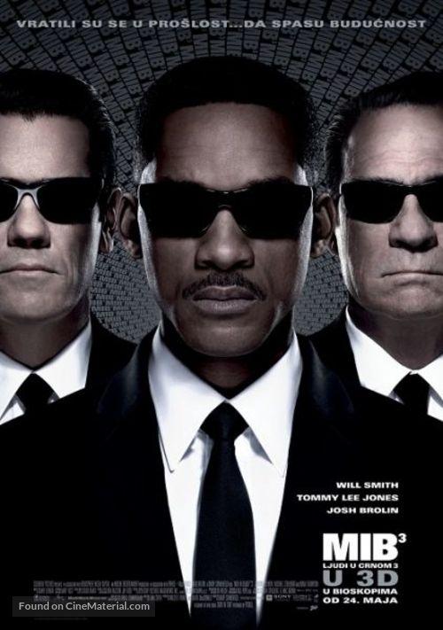 Men in Black 3 - Serbian Movie Poster
