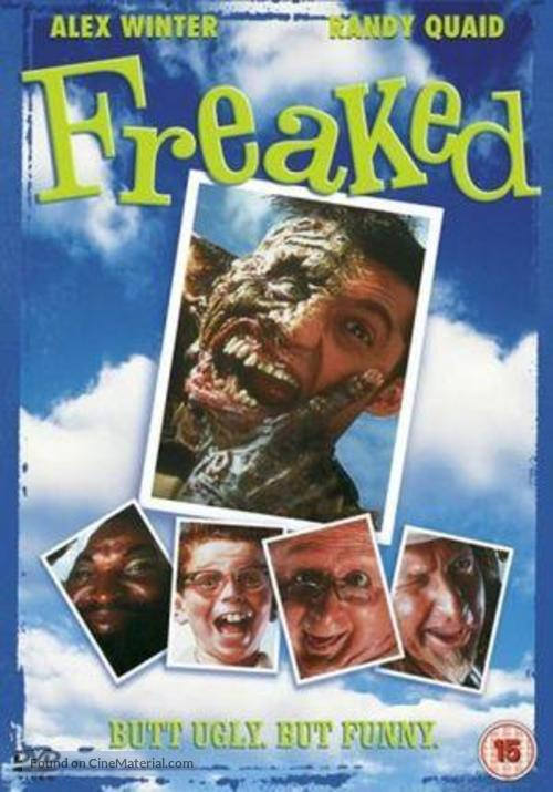 Freaked - British DVD movie cover