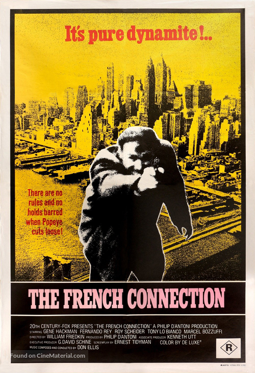 The French Connection - Australian Movie Poster